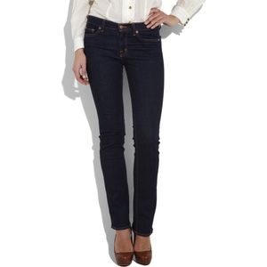 J Brand | Straight Leg Jeans In Dark 805 Ink Wash